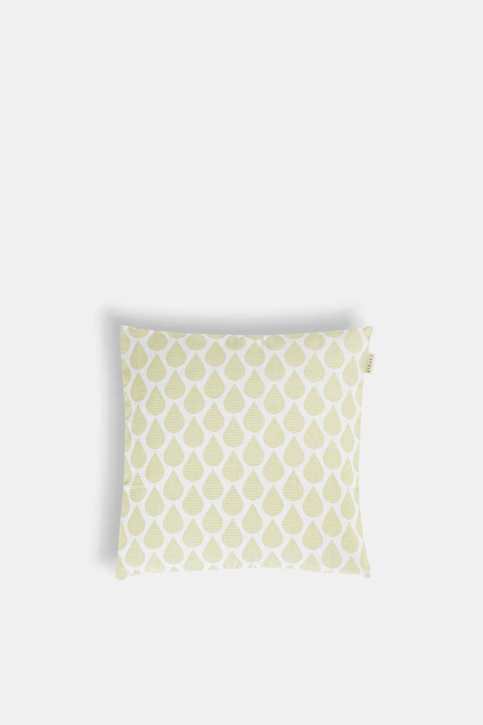 Cushion cover with digital teardrop print, LIME, detail image number 0