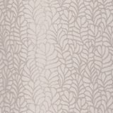 Jacquard eyelet curtain with a leaf motif, BEIGE, swatch