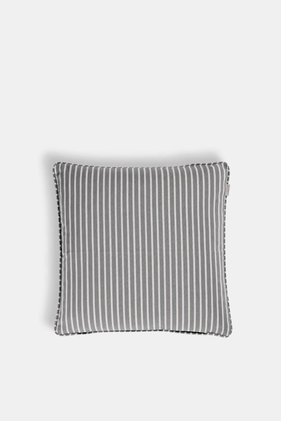 Esprit - Striped cushion cover with cotton