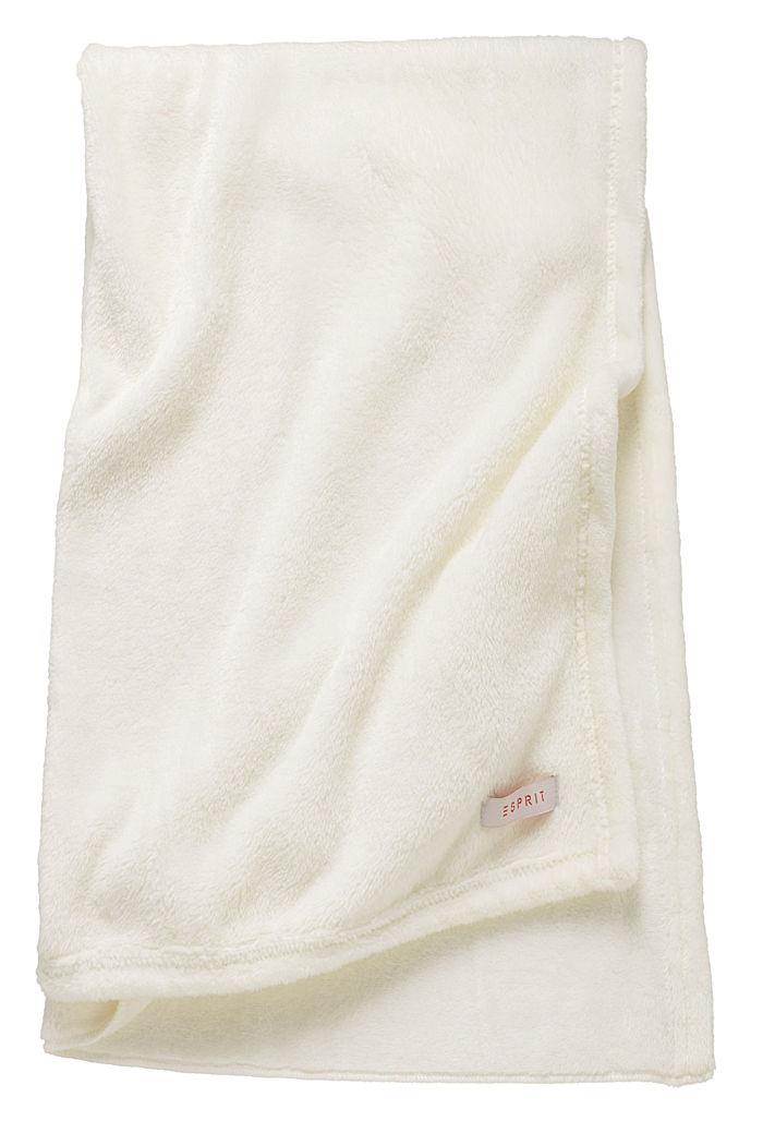 Fleece plaid, NATURE, detail image number 2