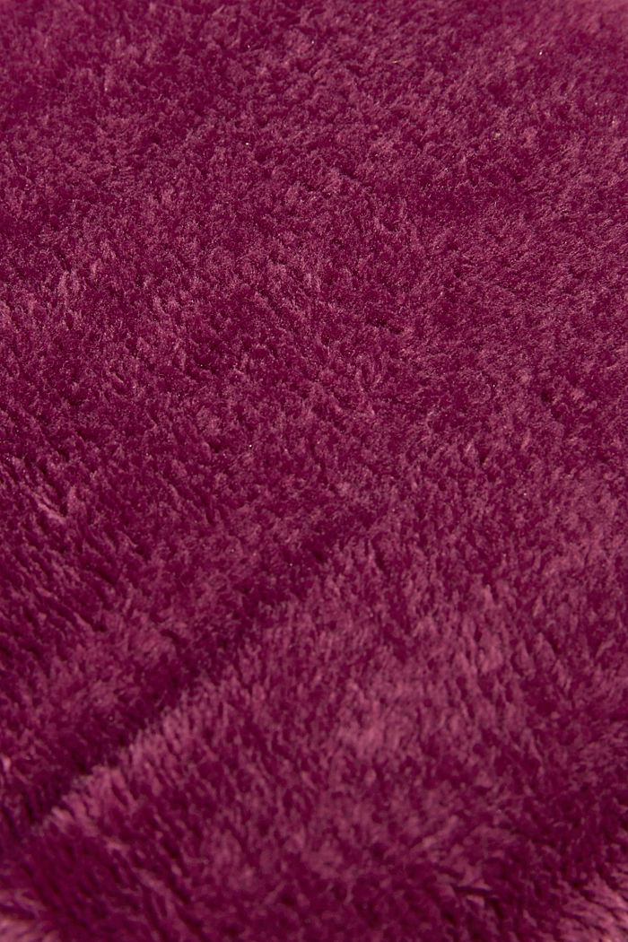 Fleece plaid, BERRY, detail image number 1
