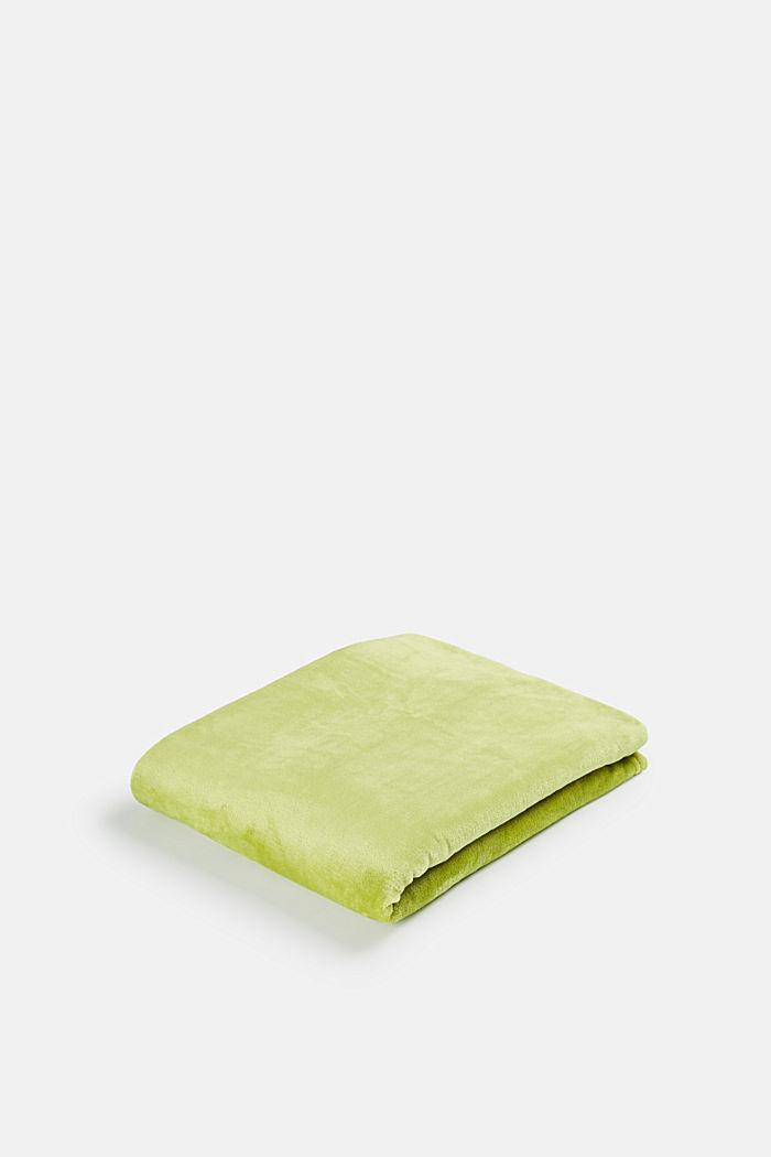 Fleece plaid, GREEN, detail image number 0