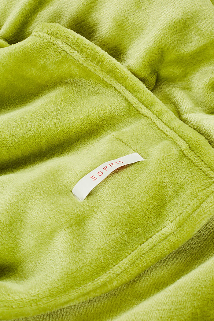 Fleece plaid, GREEN, detail image number 1