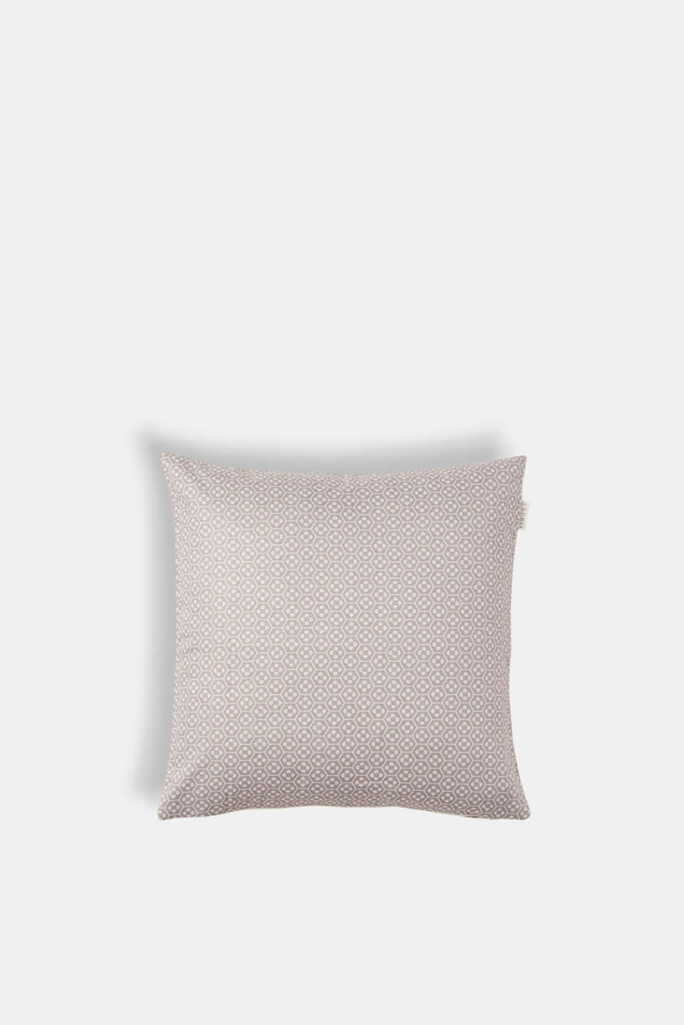 Cushion cover with a minimalist pattern, BEIGE, detail image number 0