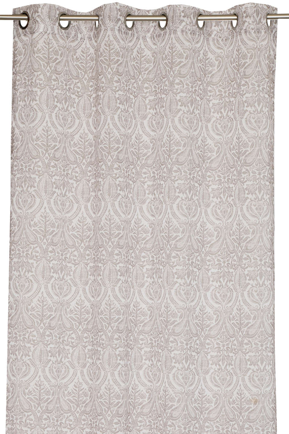Esprit - Eyelet curtain with an ornamental pattern