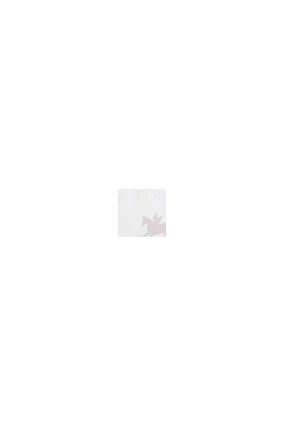 Nieprześwitująca zasłona ze szlufkami z nadrukiem w jednorożce, ROSE, swatch