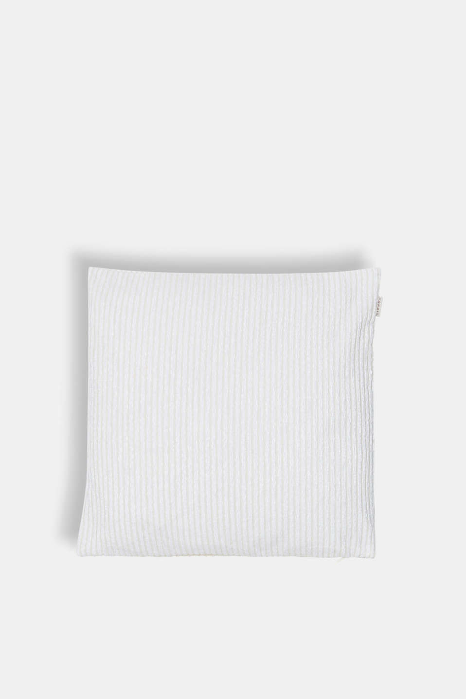 Esprit - Cushion cover with textured stripes