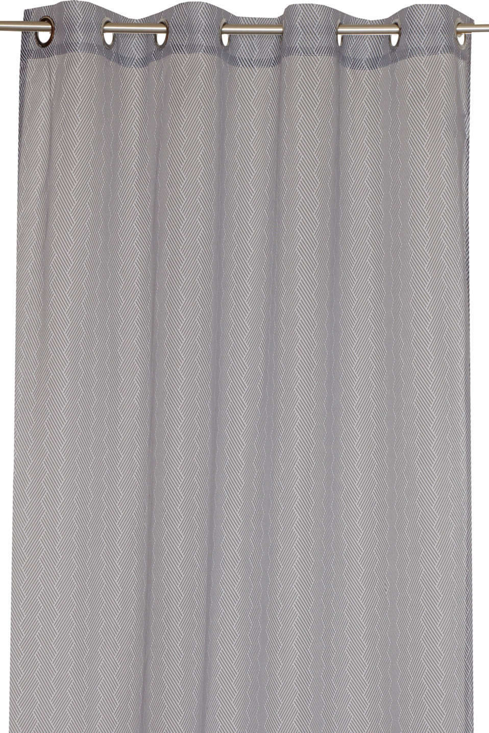Esprit - Eyelet curtain with a zigzag pattern