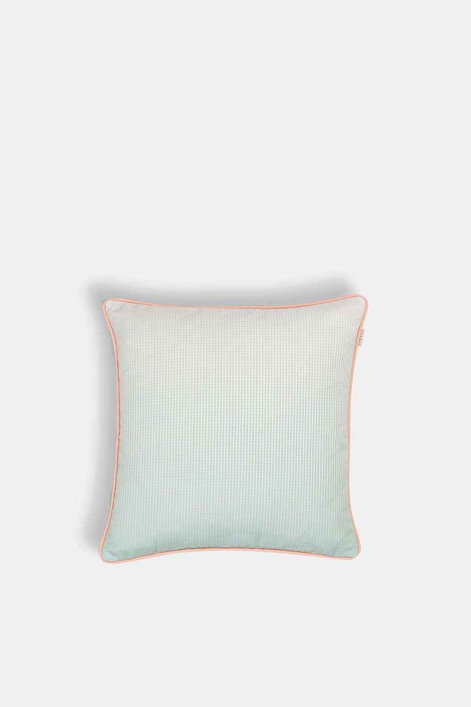 Esprit - Cushion cover with stripes and piping