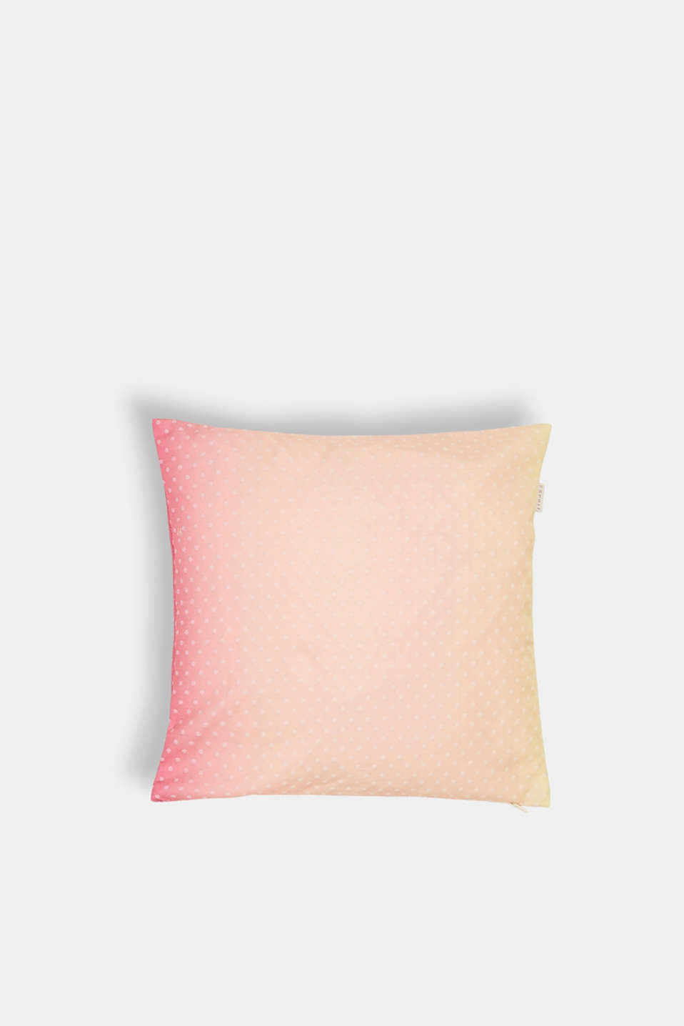 Esprit - Cushion cover with colour graduation and interwoven dots