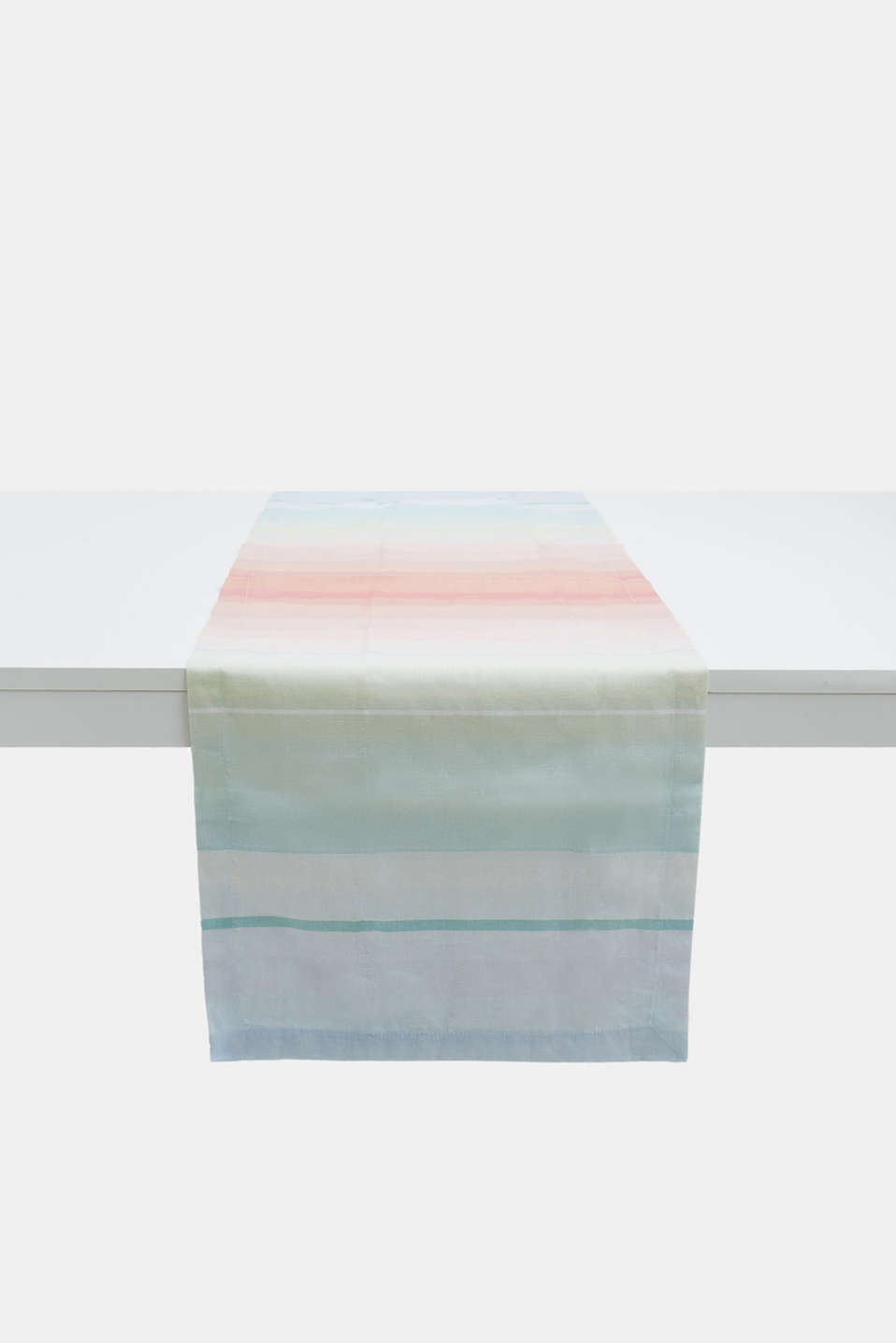 Esprit - Table runner with multi-coloured stripes