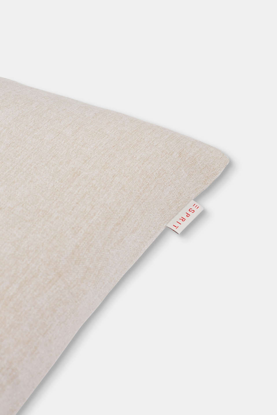 Cushion cover with accent piping, BEIGE/PINK, detail image number 1