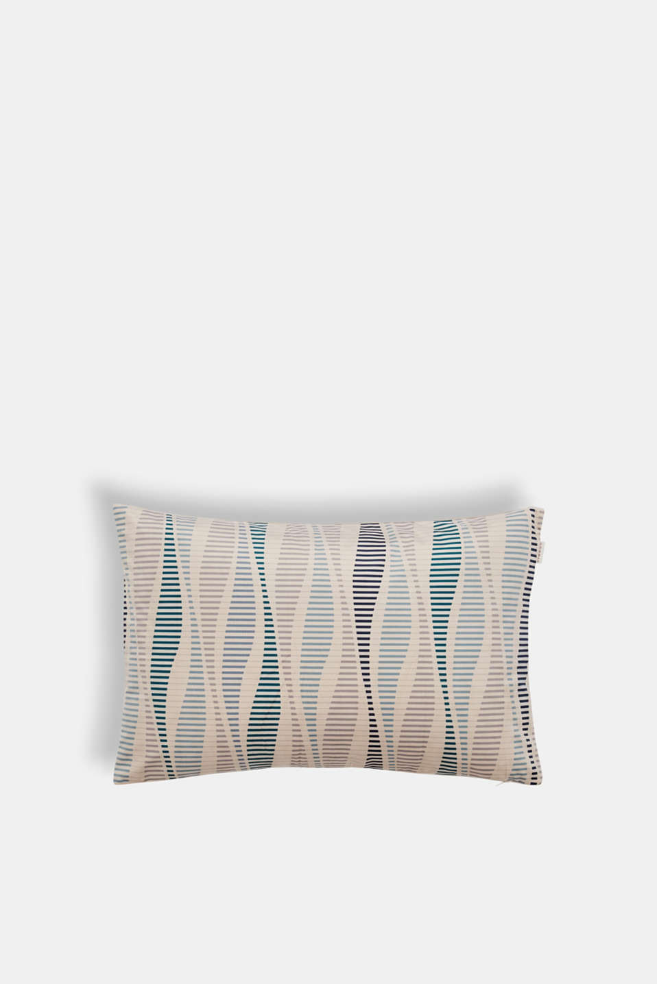 Esprit - Velvet cushion cover with a stripe print