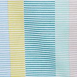 Apron with stripes, 100% cotton, BLUE MINT, swatch