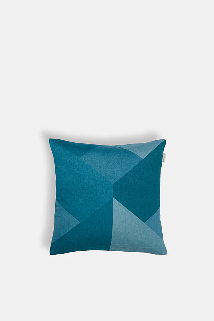Cushion cover with a graphic pattern