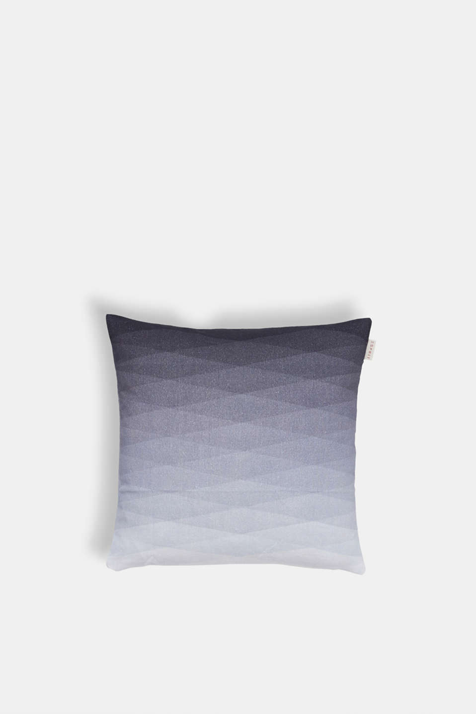 Cushion cover with colour gradation, 100% cotton, GREY, detail image number 0