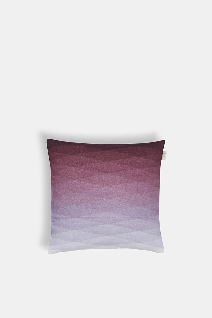 Cushion cover with colour gradation, 100% cotton