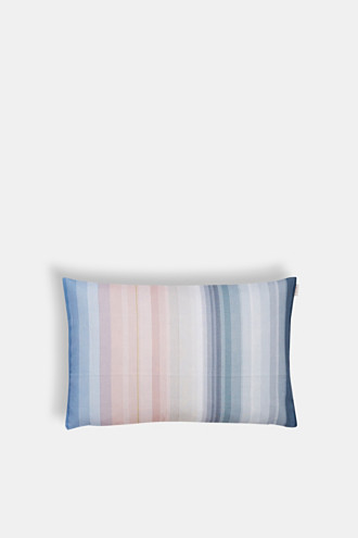 Cushion cover with stripes, 100% cotton
