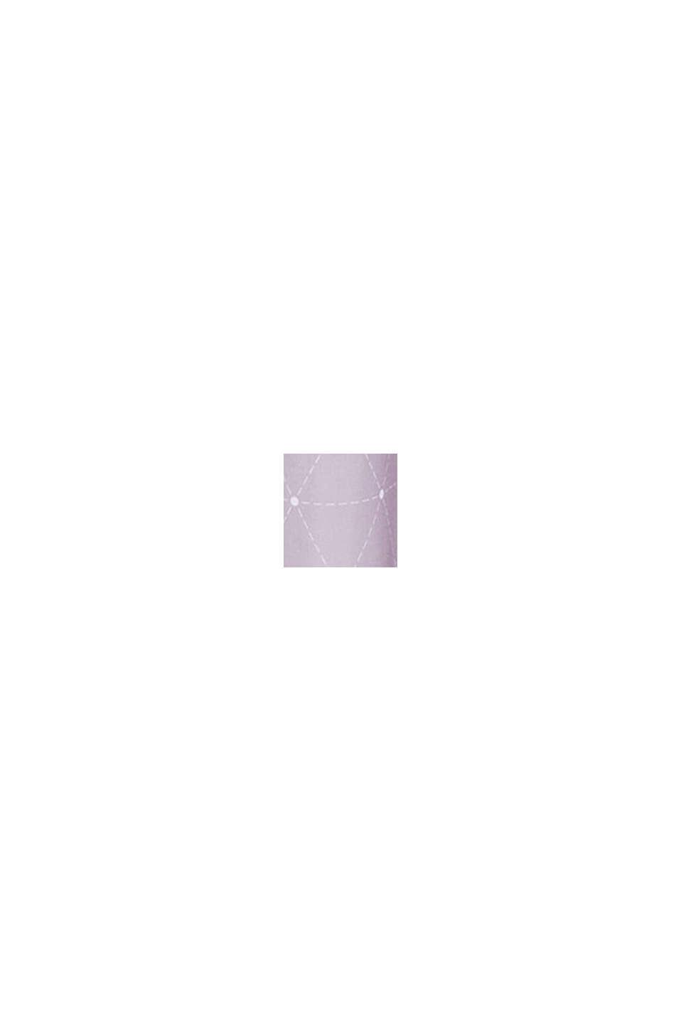 Cortina de ojales con estampado geométrico, LILAC, swatch