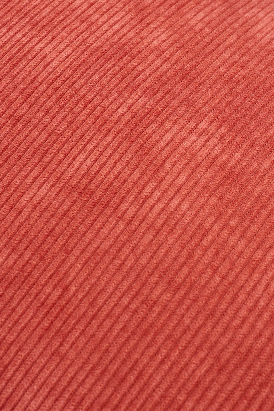 Cushion cover made of corduroy velvet, CORAL, detail image number 3