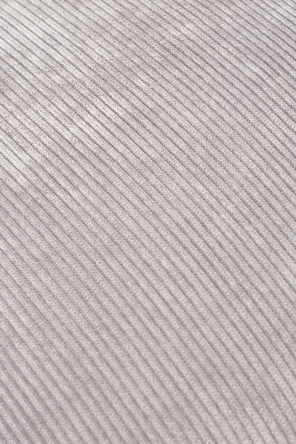 Cushion cover made of corduroy velvet, GREY, detail image number 2