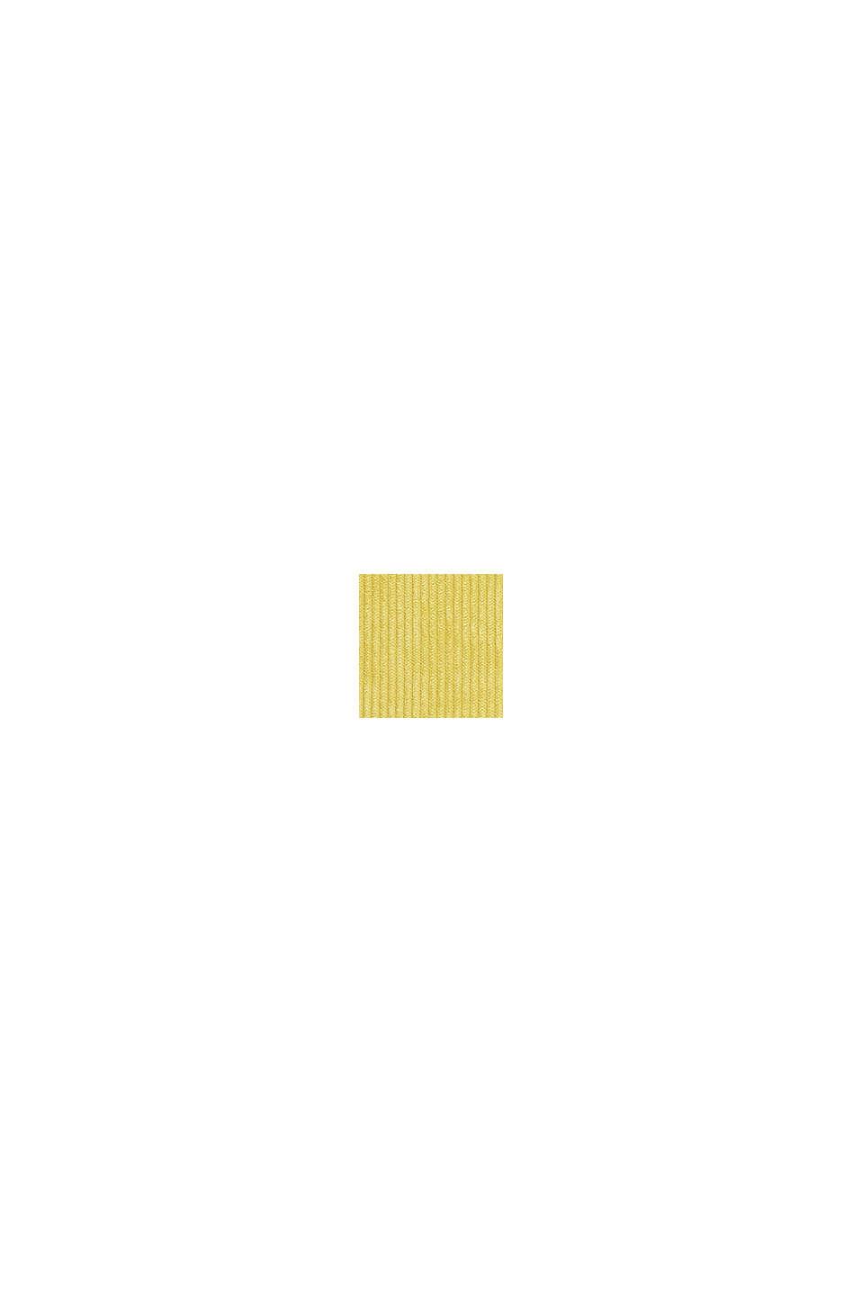 Kissenhülle aus Cord-Samt, GOLD, swatch