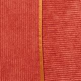 Cushion cover made of corduroy velvet, CORAL, swatch