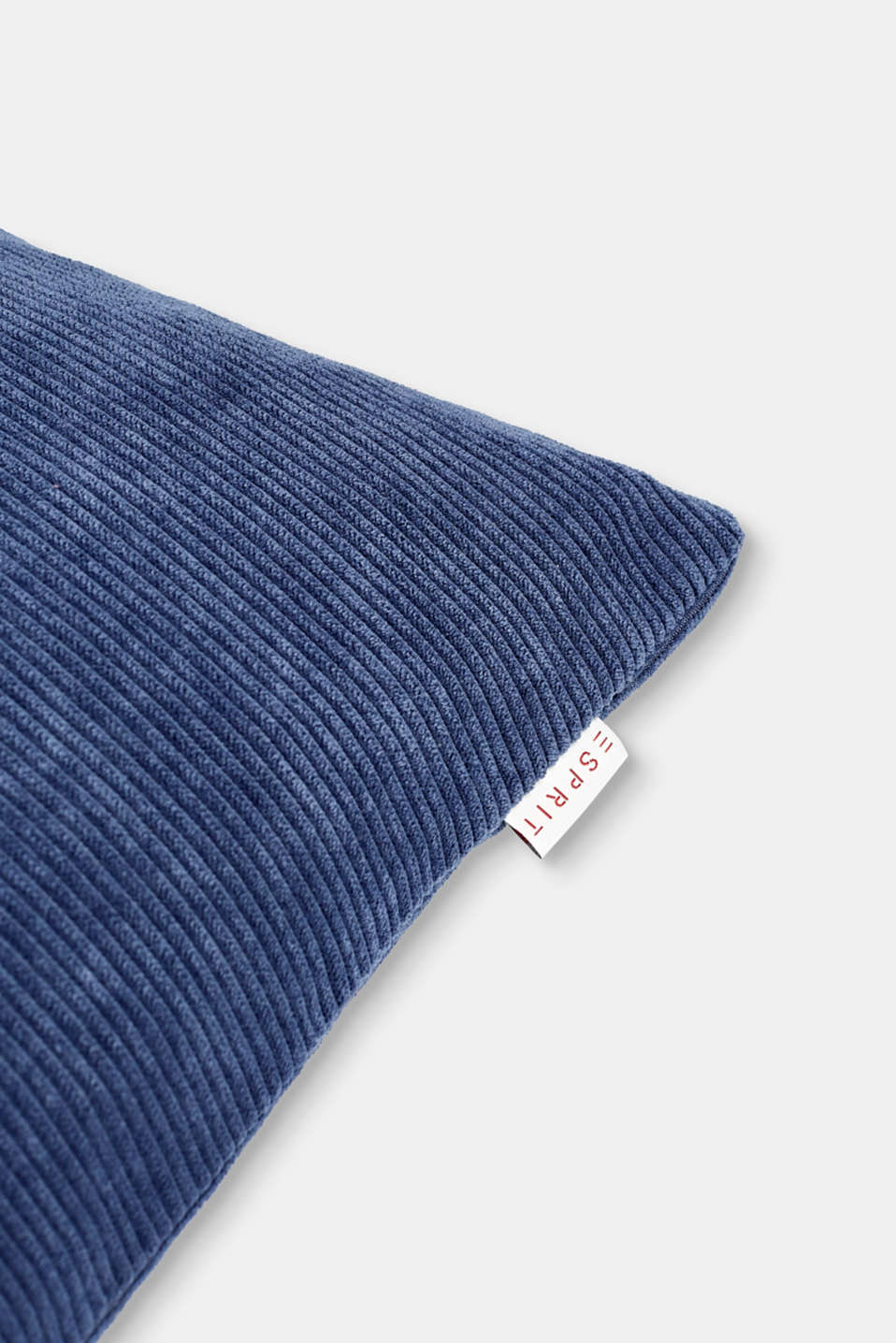 Cushion cover made of corduroy velvet, BLUE, detail image number 1