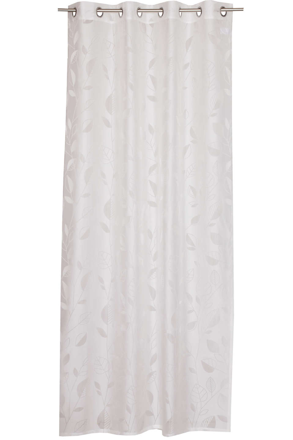 Esprit - Eyelet curtain with an burnt-out pattern