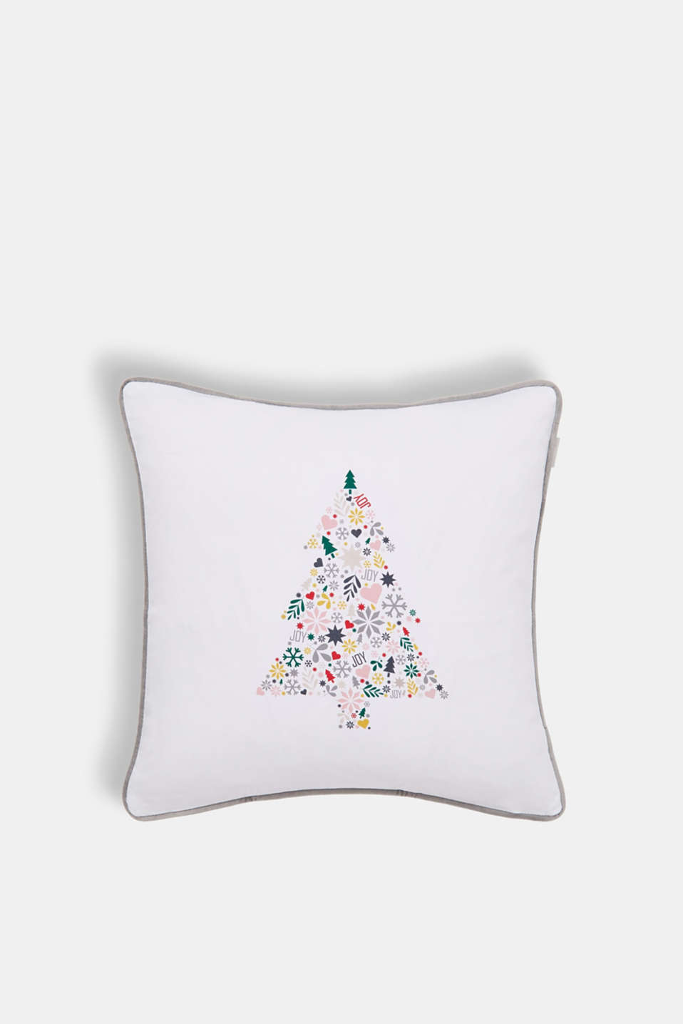 Esprit - Reversible cushion cover made of 100% cotton