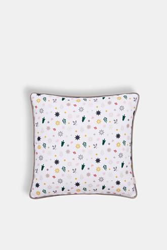 X-mas print cushion cover