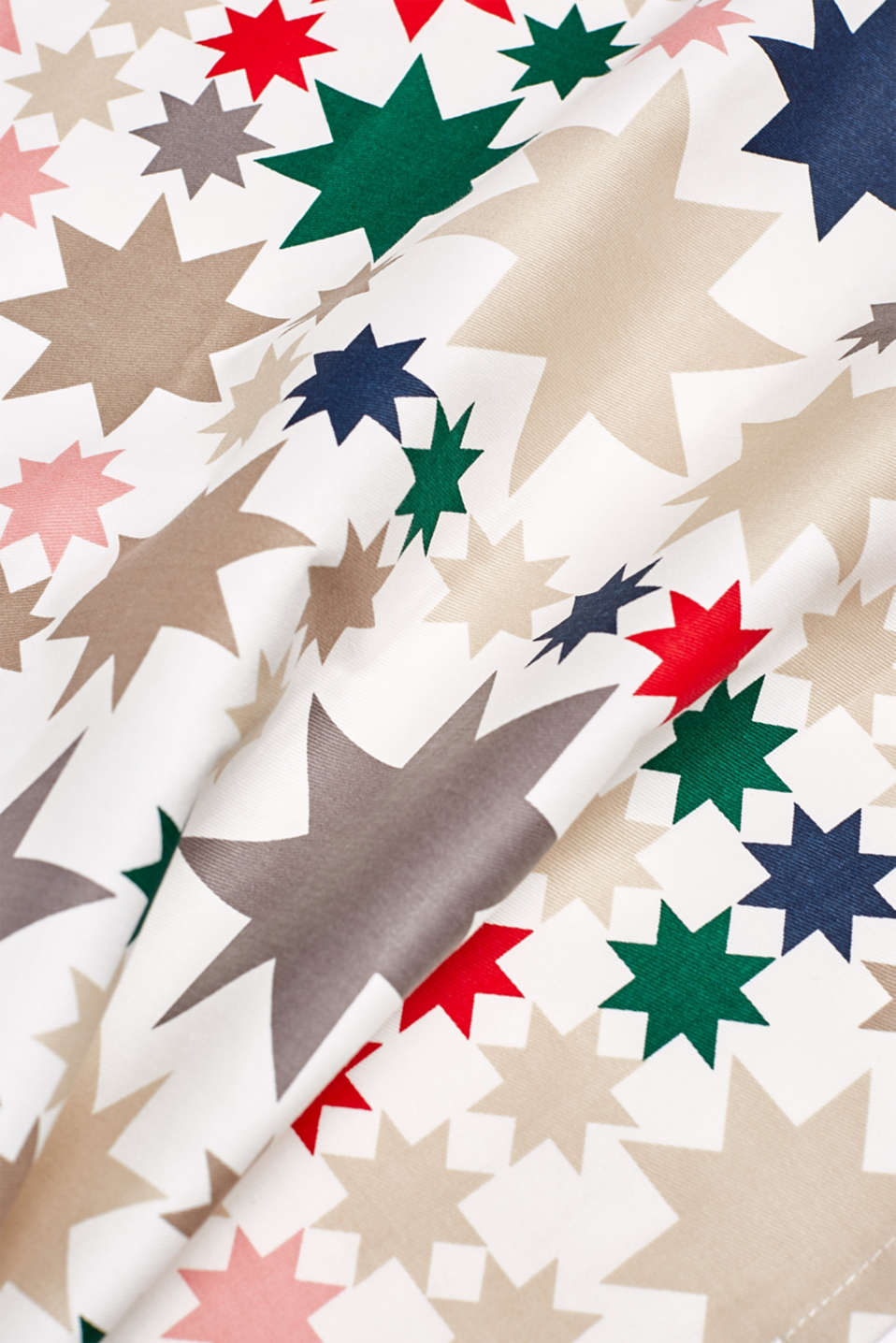 Double pack of tea towels with an Xmas print, MULTICOLOR, detail image number 2