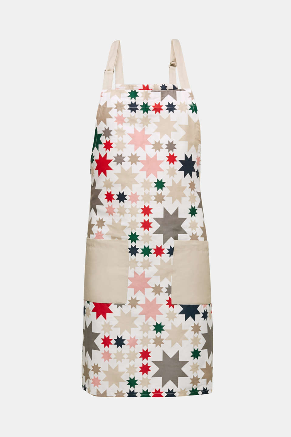 Esprit - Apron with an X-mas print, 100% cotton