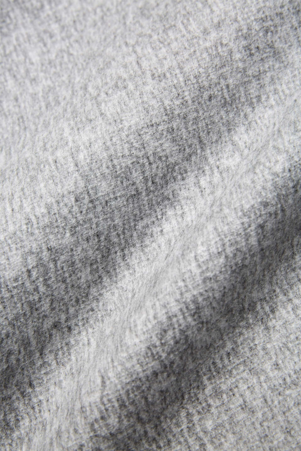 Throw with fringing, LCLIGHTGREY, detail image number 1