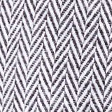 Throw with a herringbone pattern, GREY, swatch