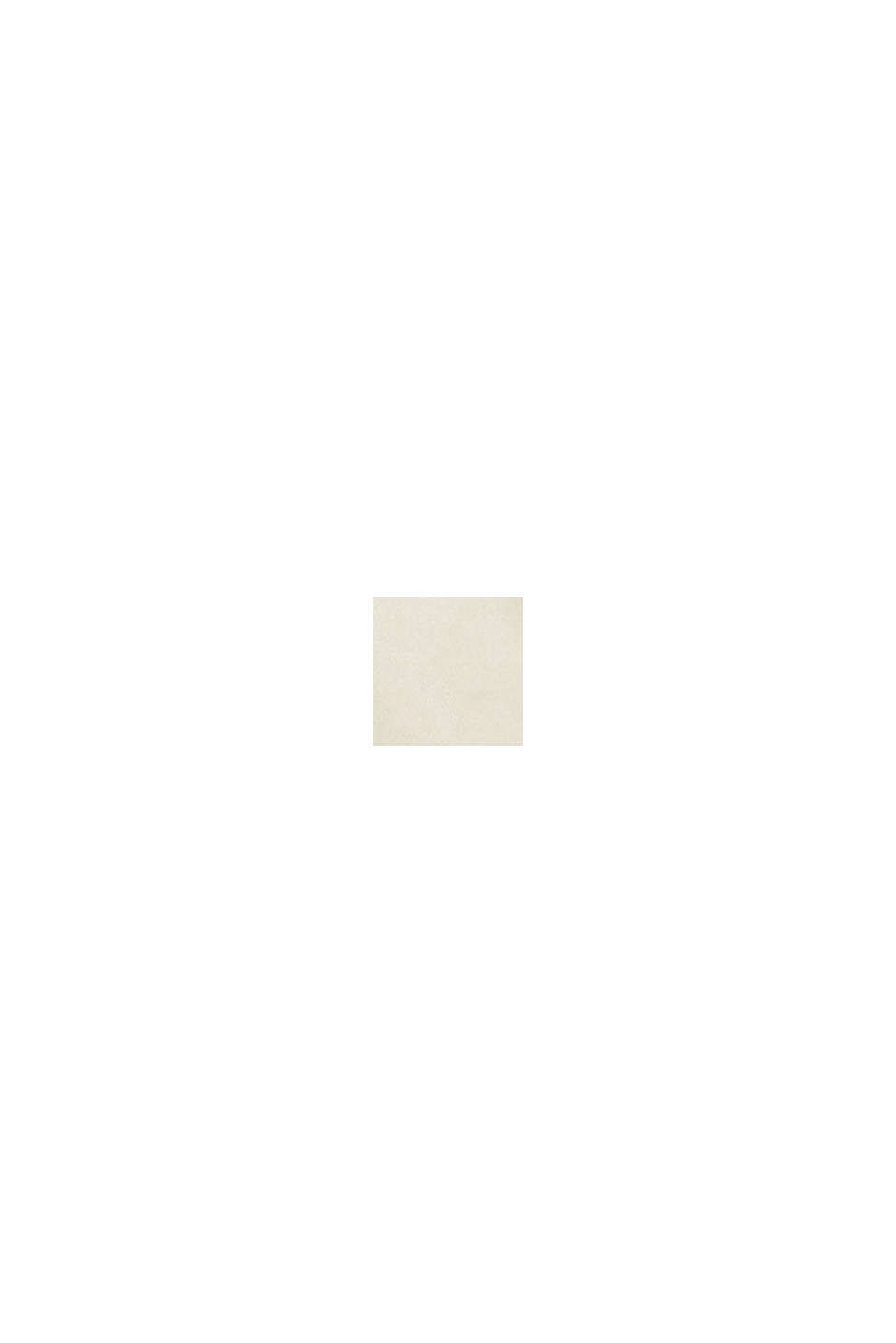 Schort met bloemendessin, 100% katoen, WHITE, swatch