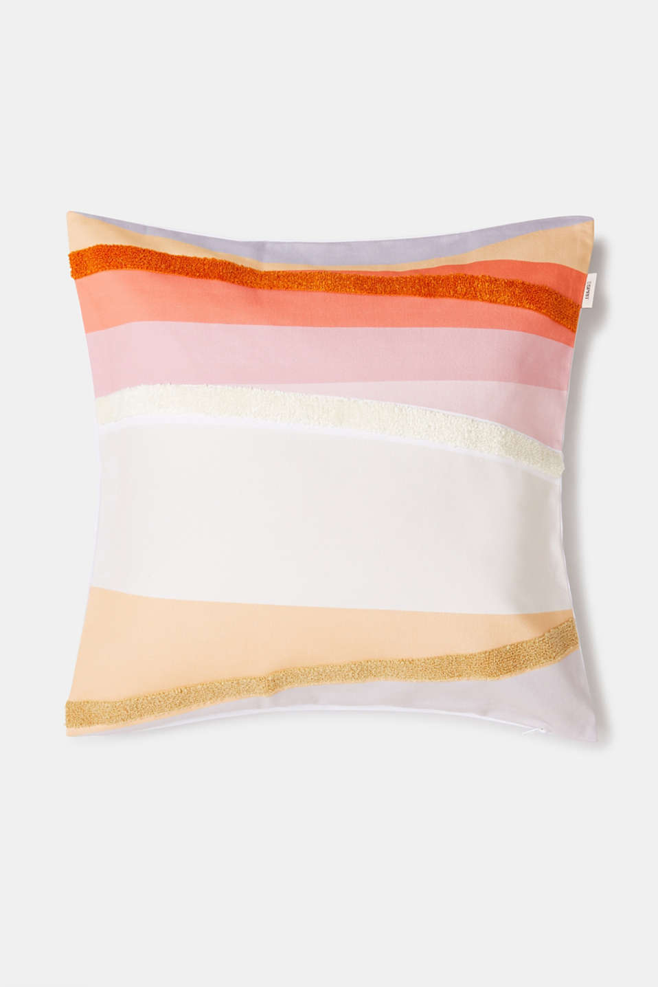 Cushion cover made of 100% cotton, ORANGE, detail image number 0