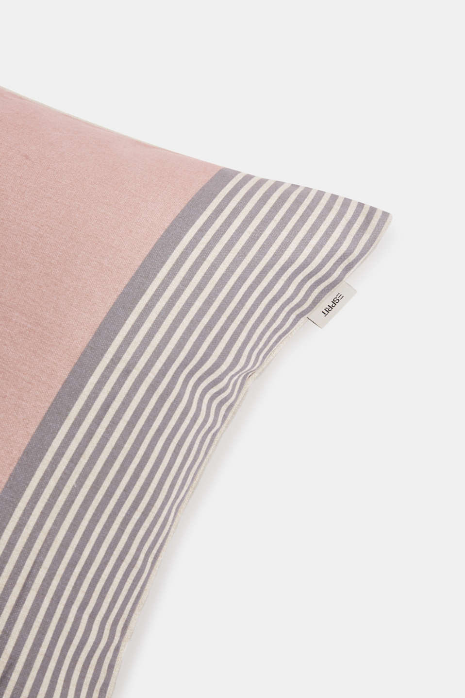 Striped cushion cover, ROSE, detail image number 1