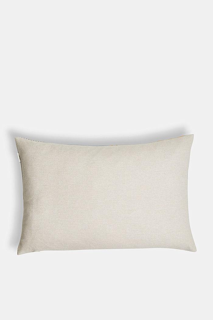 Striped cushion cover, AQUA, detail image number 2