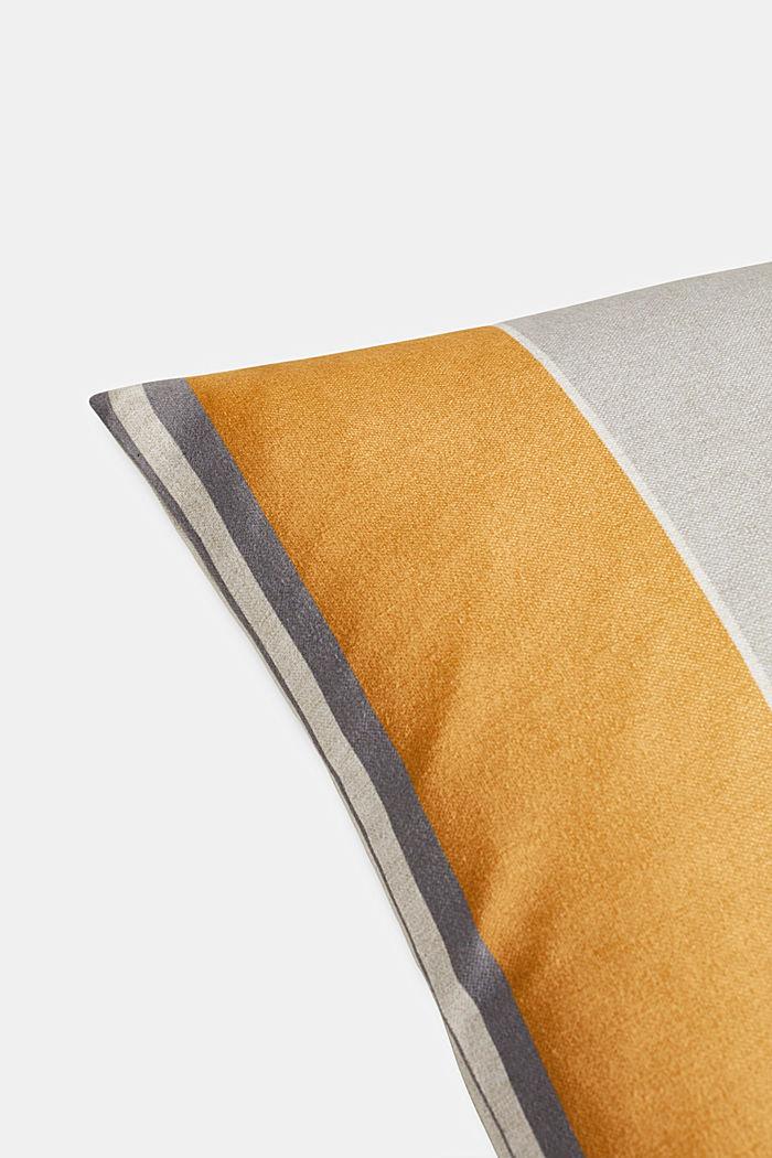 Striped cushion cover, AQUA, detail image number 1