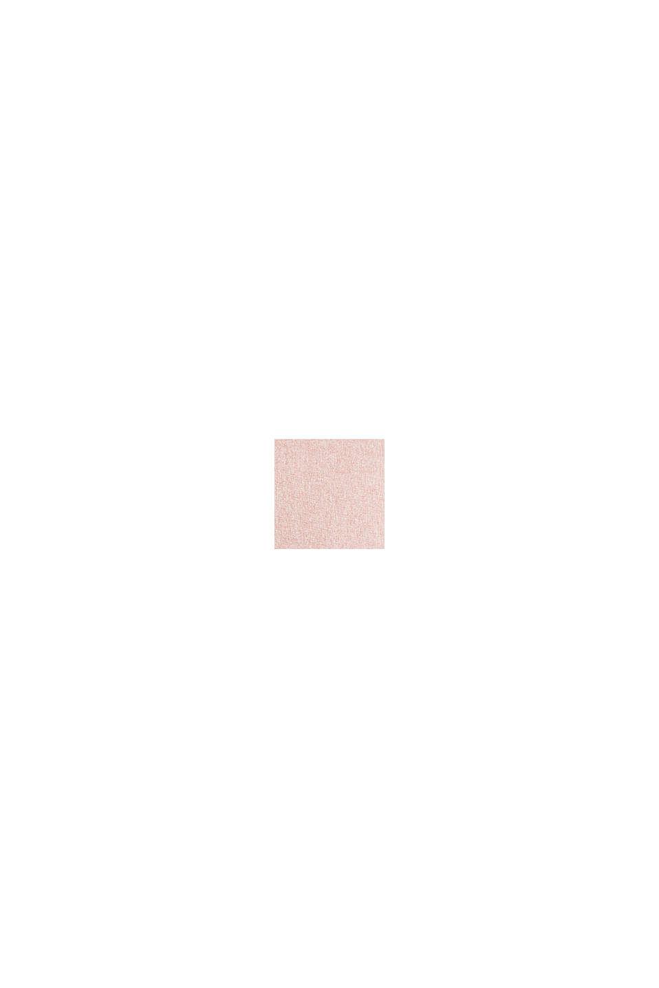 Flannel-look cushion cover, ROSE-GRAU, swatch