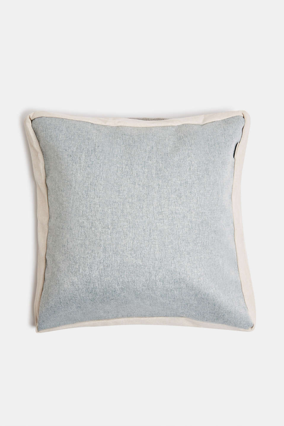 Flannel-look cushion cover, BREEZE, detail image number 0