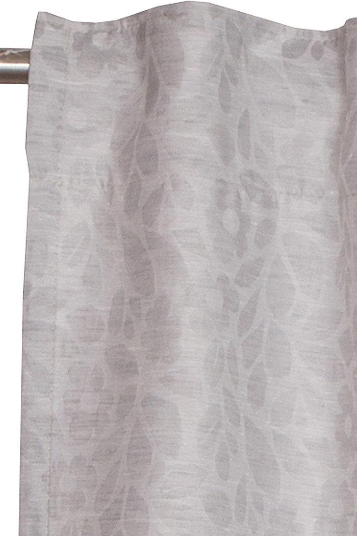 Vorhangschal mit Blumen-Muster