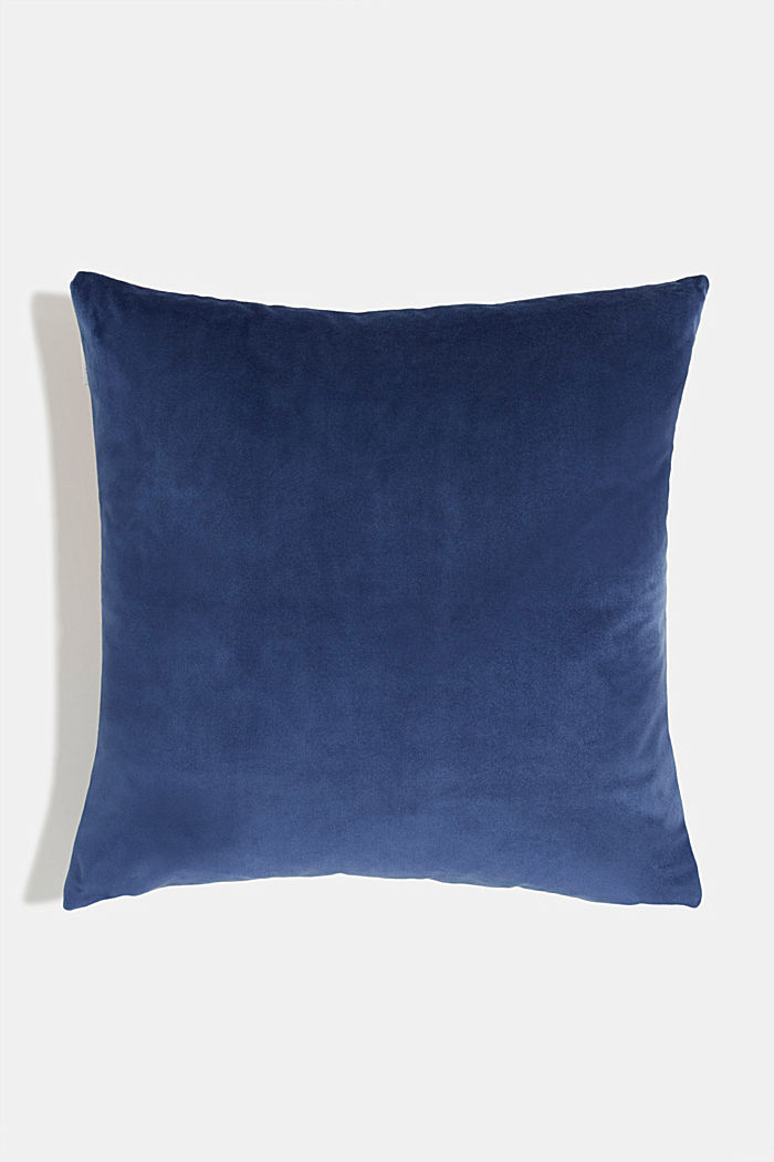 Cushion cover with colourful squares, NAVY, detail image number 2