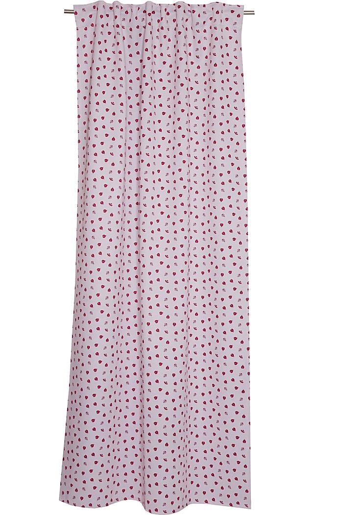 Cortina en tejido oscurecedor con estampado de mariquitas, ROSE, detail image number 2