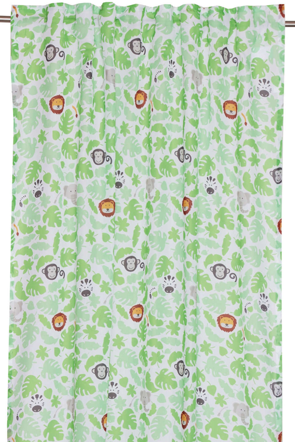 Kids motif curtain, LCMULTICOLOUR, detail image number 0