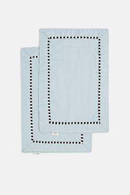 Set of 2 place mats, AQUA, detail