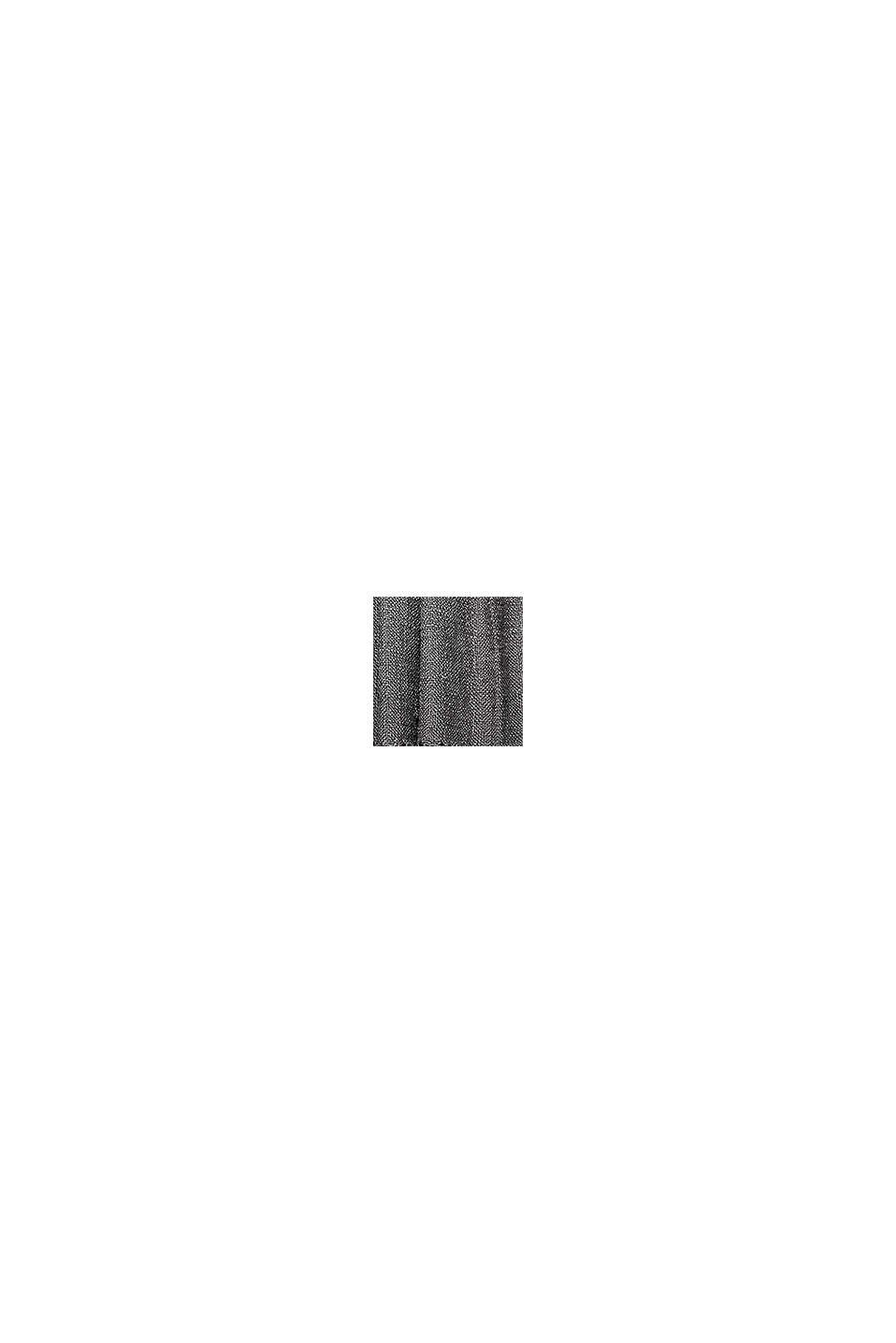 Blød tekstilplaid med skinnende garn, ANTHRACITE, swatch