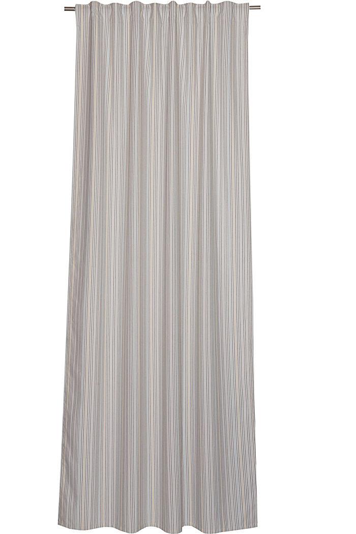 Recycelt: Vorhangschal mit Schlaufenband