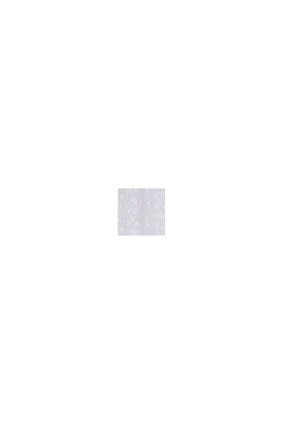 Semitransparenter Ösenschal mit Ginko-Motiven, WHITE, swatch